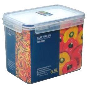 6.8L Rectangular Klip Fresh Food Storage Manufacturer