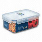 3.4L Rectangular Klip Fresh Food Saver Manufacturer