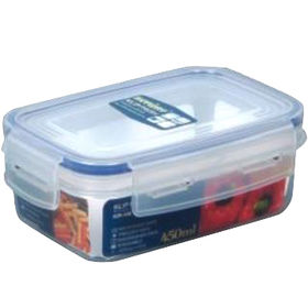 Rectangular Klip Fresh Food Storage from Taiwan