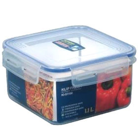 Square Klip Fresh Food Storage from Taiwan