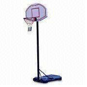 Sturdy Basketball Hoop Set with 3.5-inch Pole System
