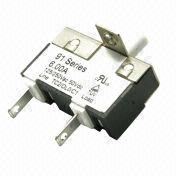 91 Series Thermal Circuit Breaker with 125/250V AC, 50V DC Voltage Rating