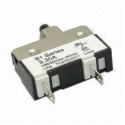 125/250V AC 50V DC Thermal Circuit Breaker in 91 Series with 1.0 to 10.0A Current