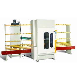 Automatic Glass Sandblasting Machine with 12 to 15m²/h Sandblasting Speed