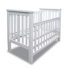 China Baby Cot, Side Barrier Movements, Made of Solid Wood or MDF, Measures 125 x 70 x 102cm