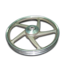 Taiwan Anodized-finished Wheel, Made of A360 or AC4C, Suitbale for Auto Parts