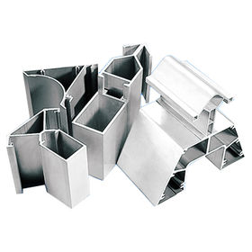 Aluminum Extrusion with Smooth Surface and Fine Metus Cover, Meets International Standard
