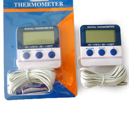 China Indoor/Outdoor Alarm Thermometer