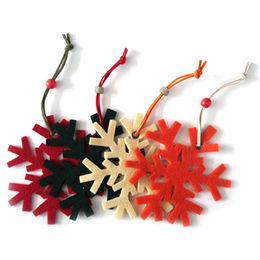 Cutting Felt Decorations from China (mainland)