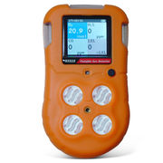 Portable Multi-gas Detector with 3.6V DC Li-ion Battery Power Source and IP65 Protection Grade