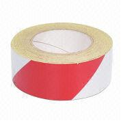 Car Reflective Tape, Available in White/Red, Black/Yellow and White/Blue Colors