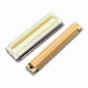 0.5mm Board to Board  PCB Connector with Voltage Rating of 50V AC/DC from Morethanall Co. Ltd