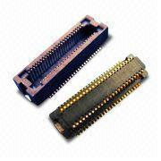 0.5mm Board to Board Gold-plated PCB Connector with Voltage Rating of 50V AC/DC from Morethanall Co. Ltd