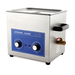 China Ultrasonic Cleaner with 40,000Hz Ultrasonic Frequency and 10L Tank Capacity