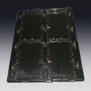 China Packing Tray for Electronic Parts with CNC Programmed Molding
