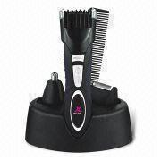 China Rechargeable Grooming Kit with Store and Charge Stand, Includes Shaver, Nose/Hair Trimmer