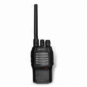 China Handheld Two-way Radio with 400 to 470MHz Frequency Range and 16 Memory Channels