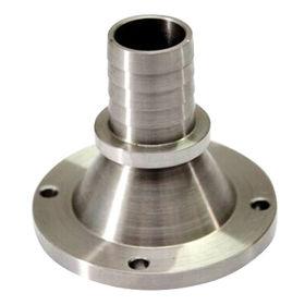China Metal las piezas dadas vuelta, CNC trabajadas a máquina, acero, cinc-plateado