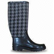 Women's Rubber Rain Boot from China (mainland)