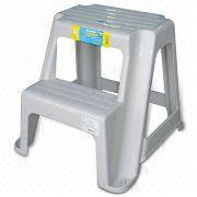 Taiwan Two-step Ladder Chair, Made of Plastic, Measures  338 x 360 x 360mm