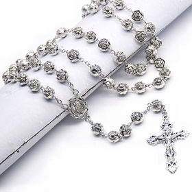 Lead Free Wooden Beads Rosary, Available in Various Colors and Sizes