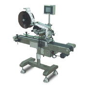 Top Labelling Machine with Label Position, Height, and Angle be Adjustable