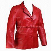 Wholesale Women Leather Blazer coat, Women Leather Blazer coat Wholesalers