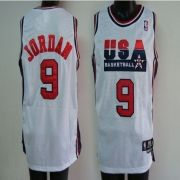 3fe311d2b Wholesale BASKETBALL JERSEY  9 Michael Jordan 1992 USA white nba jersey