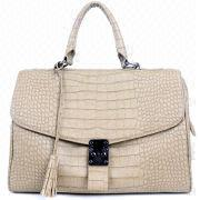 Synthetic Leather Crocodile Grain Handbag from China (mainland)