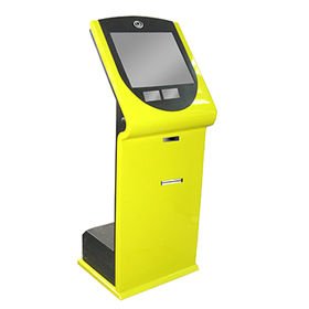 Multimedia Kiosk with 1 to 3mm Thickness, Measuring 530 x 350 x 1,322mm