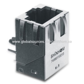 PCB Modular RJ45 Jack from China (mainland)