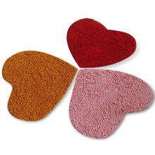 Heart-shaped Carpet Rug, Available in Different Sizes