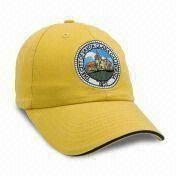 China Eco-friendly Promotional Cap, Made of 100% Cotton, Various Colors are Available, Measures 56/57cm