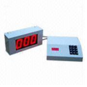 LED Token Display-LED token display is used as modular queue system.