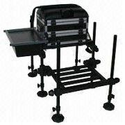 Fishing Seat Box - with footrest and side tray | Global Sources