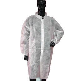 Disposable Nonwoven PP Lab Coat Manufacturer
