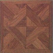 Environment-protection PVC Vinyl Floor Tile with UV Coating and Beveled Edge from Zhangjiagang Elegant Plastics Co. Ltd