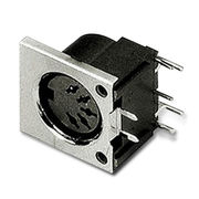 DIN Socket Connector from Taiwan