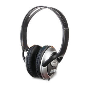 Rhyme Noise Reduction Stereo Headphones, Comply with RoHS, PAHs, Non-phthalate and CPSIA Standards from Wealthland (Audio) Limited