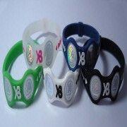 Silicone Balance Bracelet With Hologram