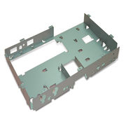 Customized Stamped Metal Parts, Suitable for Computer Products, RoHS Compliant from Win Industry Co. Ltd