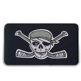 Taiwan 7-inch Customized Hockey Embroidered Patch