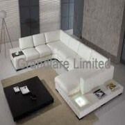 Modern Style Real Leather Sofa Set European Style Leather Sofa Living Room  Furniture