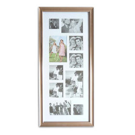 China Plastic Collage Photo Frame, Available in Various Sizes and Colors