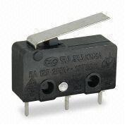 5(3)A to 10(4)A Micro Switch, UL, cUL, VDE, CE, TUV, and CQC Approved