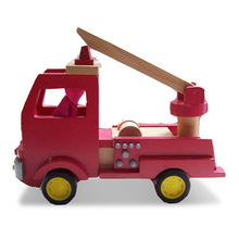 Red mini wooden vehicle Manufacturer