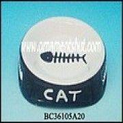 ceramic cat bowls from China (mainland)