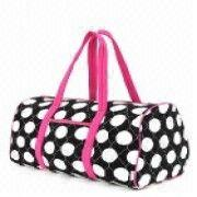 Wholesale QUILTED SUPER JUMBO DOTS DUFFLE BAG, QUILTED SUPER JUMBO DOTS DUFFLE BAG Wholesalers