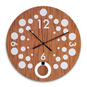 MDF Wall Clock from Hong Kong SAR