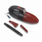 China Car Vacuum Cleaner with 60W Power, ABS Hull and Handle